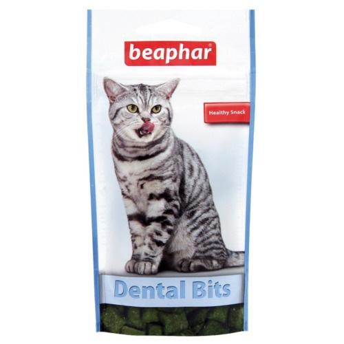 Bocadinhos de clorofila para cuidado dental de gatos Beaphar