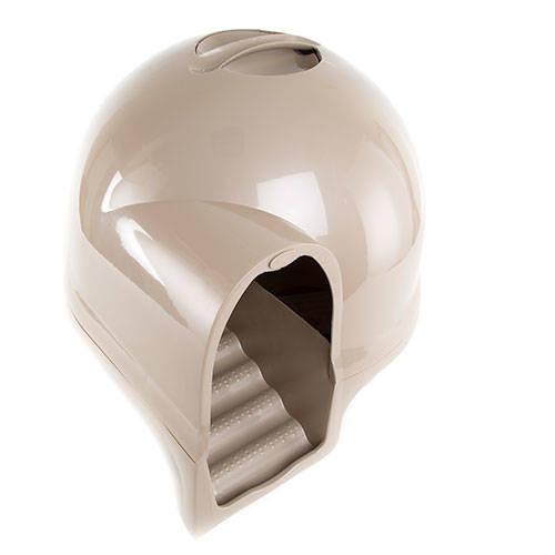 Gateira fechada com forma de iglu CleanStep