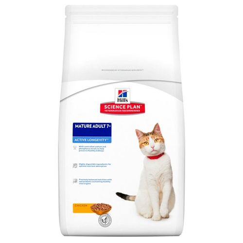 Hill's Feline Mature Adult 7+ Active Longevity Frango
