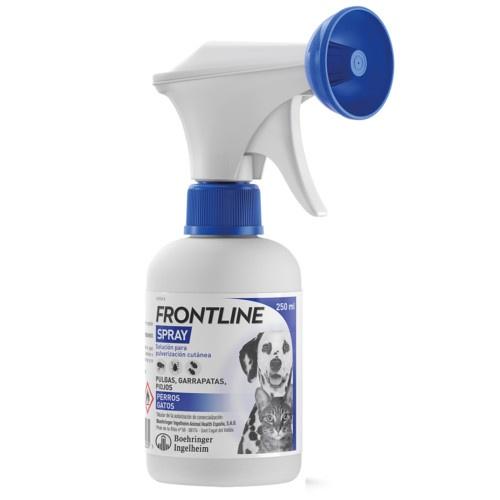 Frontline Spray antiparasitário protecção total mascotes