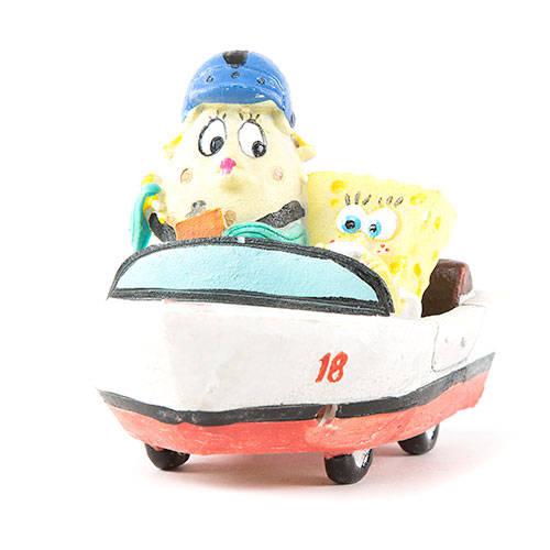 Figura Bob Esponja decoração aquários - 5 modelos