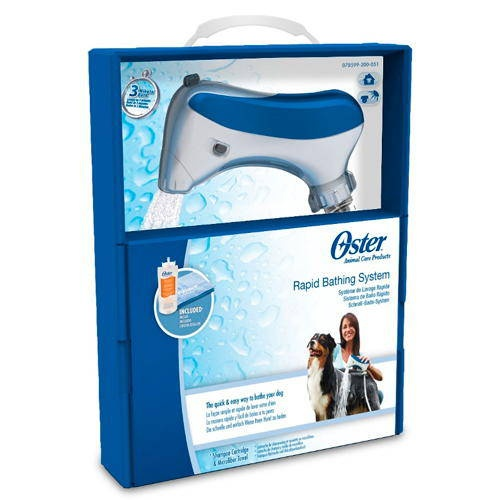 Oster sistema de banho rápido professional para cães e gatos
