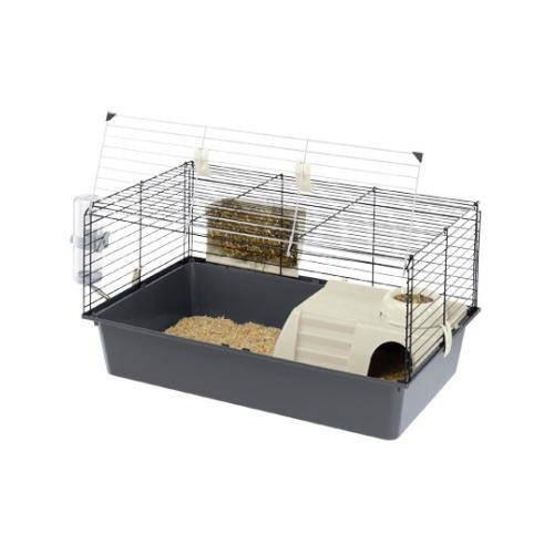 Jaula para coelhos e cobaias com abertura dianteira