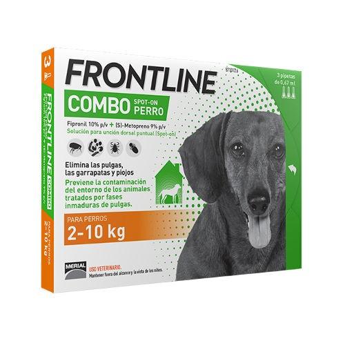 Frontline Combo Spot On cães 2-10 Kg