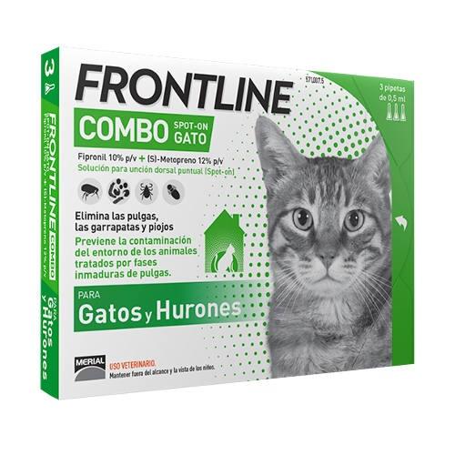 Frontline Combo Spot On Gatos