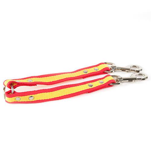 Trela de nylon curto para cães