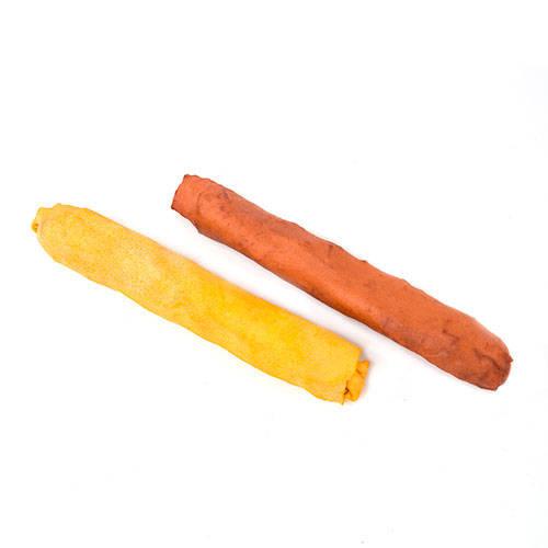 Snack para cães para mastigar de pele