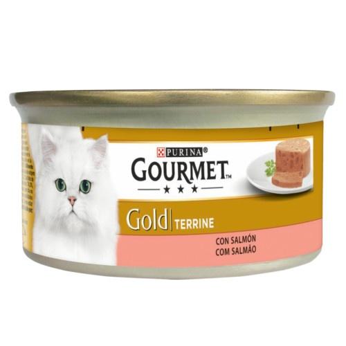 Gourmet terrine Salmão para gatos