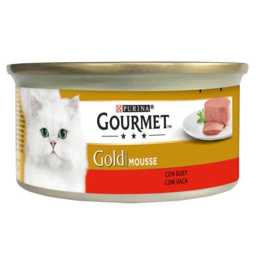 Gourmet mousse Boi para gatos