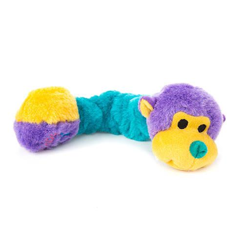 Kong Squiggles de peluche elástico para cães