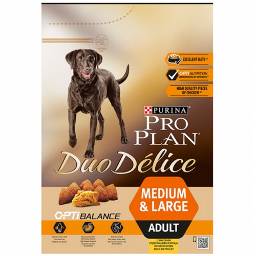 PRO PLAN Duo Delice Adult Frango Ração para cães