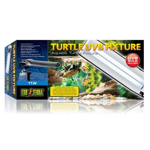 Exo Terra Porta-lâmpada Turtle UVB Fixture para tartarugas aquát
