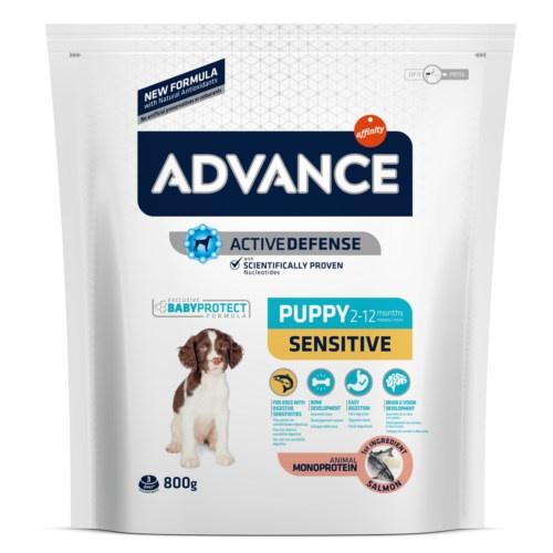 Advance Puppy Sensitive com salmão