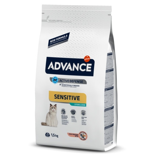 Advance Sterilized Sensitive com salmão e cevada