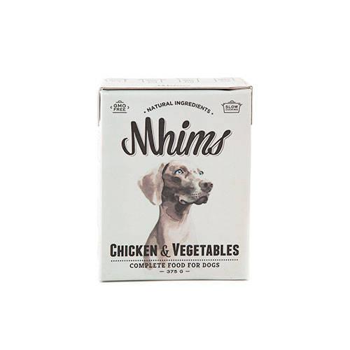 Mhims Frango Alimento húmido natural para cães