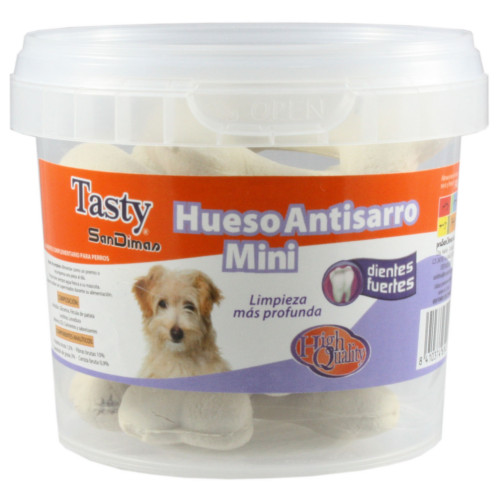 Osso anti-tártaro com arroz Guloseimas para cães