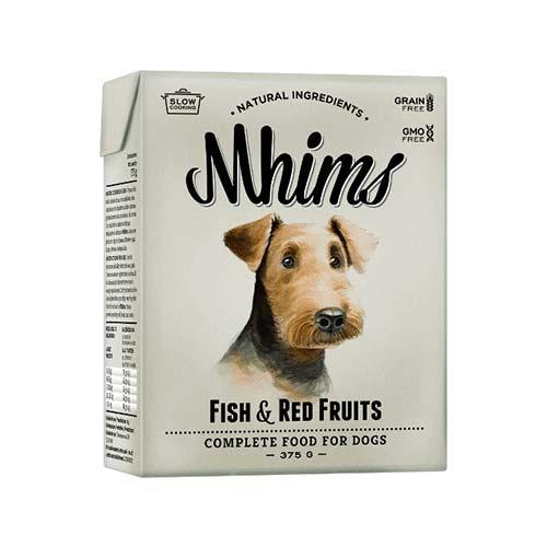 Comida húmida para cães Mhims Fish & Red Fruits de peixe