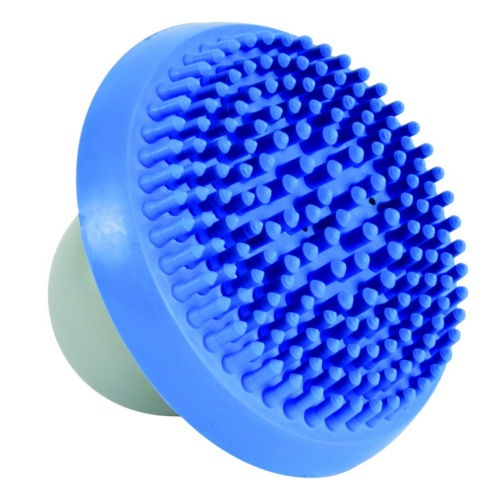 Escova de massagem dispensadora de champô para banho